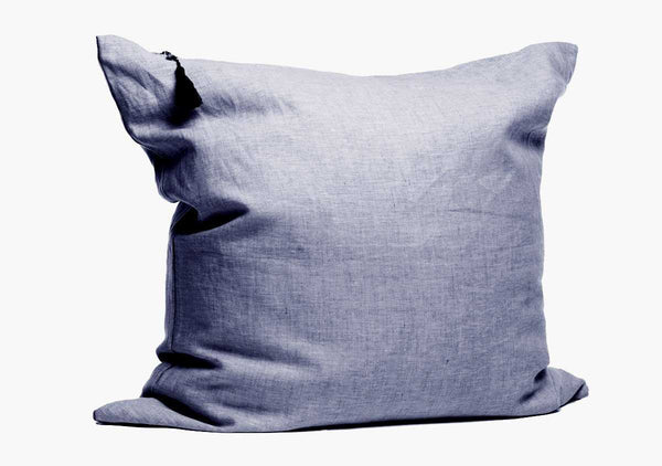 Solid Pillow In Blue - 26"