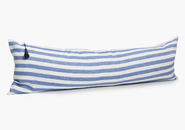 "Sur La Mer In Blue Wide - 14"" x 48"" 
