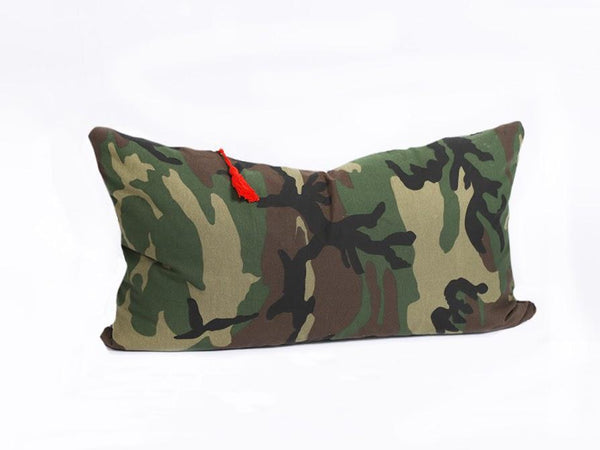 Lumbar Pillow in Camo