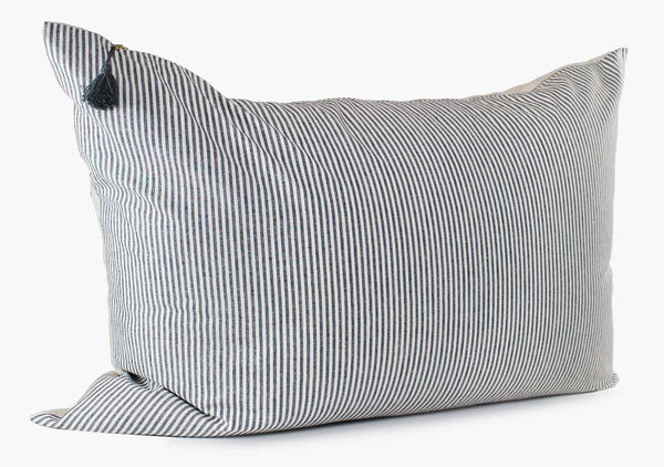 Toulouse Headboard Cushion In Blue Narrow