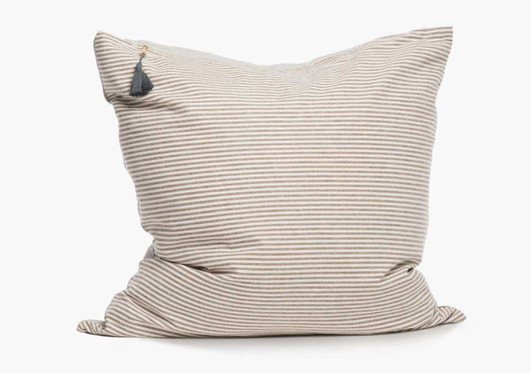 Toulouse Pillow In Brown - 17""