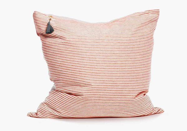 "Toulouse Pillow In Red - 26"" x 26"" 