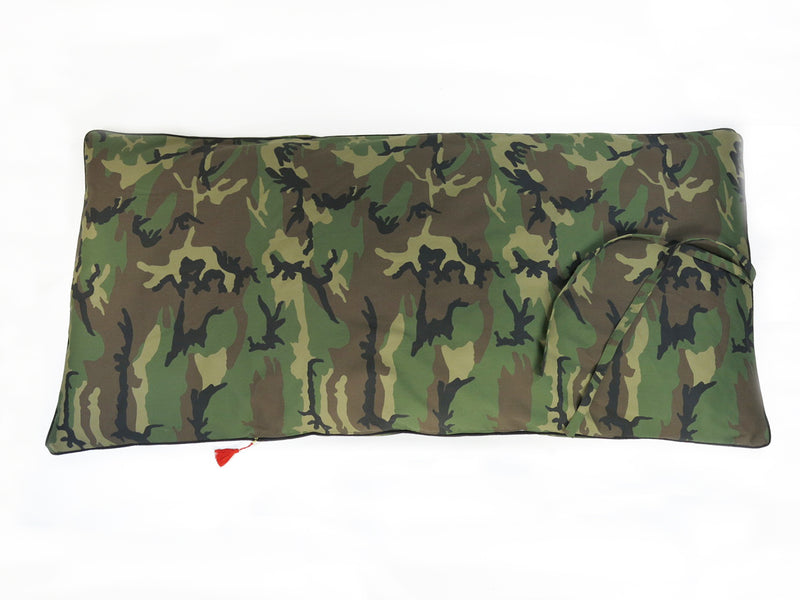 Cotton Twill Throwbed Camo - Full Length | Hedgehouse