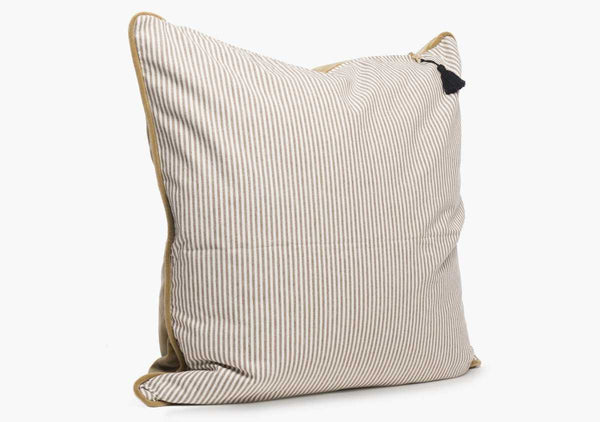 Velvet & Toulouse Pillow In Caramel - 26""