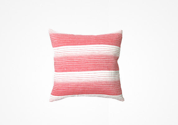 Cortina Pillow In Coral - 17""