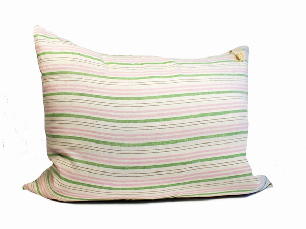 Headboard Cushion in Spring Cortina & Deauville