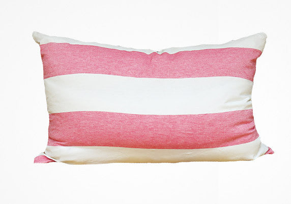 Harbour Island Headboard Cushion In Blush | Hedgehouse