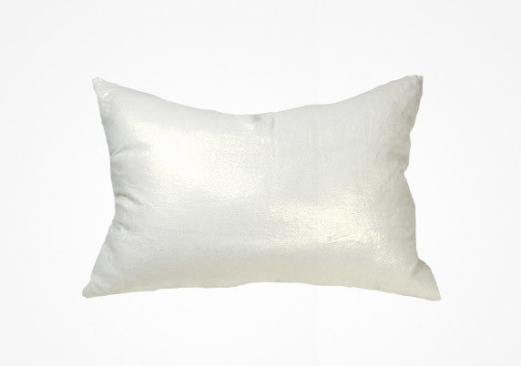 Metallic Headboard Cushion In Mt Blanc