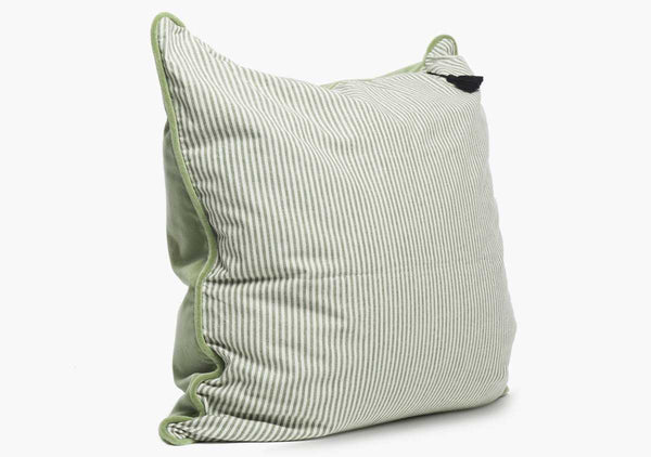 Velvet & Toulouse Pillow In Mint & Toulouse - 26""