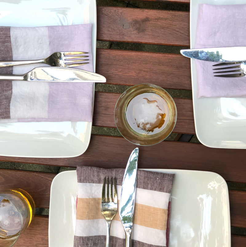 Majorca Napkin in Multi-Color (Set of 4) | hedgehouseusa