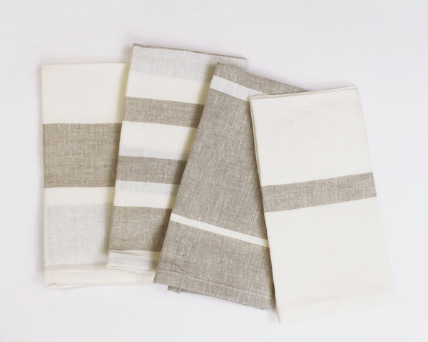 Majorca Napkin in Oatmeal (Set of 4) | Hedgehouse