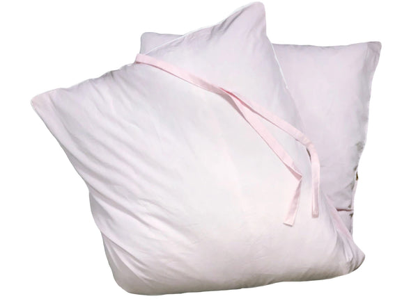 Aveira Throwbed in Pink Cotton Shirtcloth