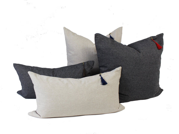 Solid Throw Pillows | Hedgehouse