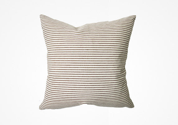 Toulouse Pillow In Brown - 26""
