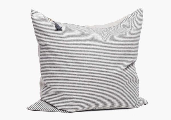 "Toulouse Pillow In Blue - 26"" x 26"" 