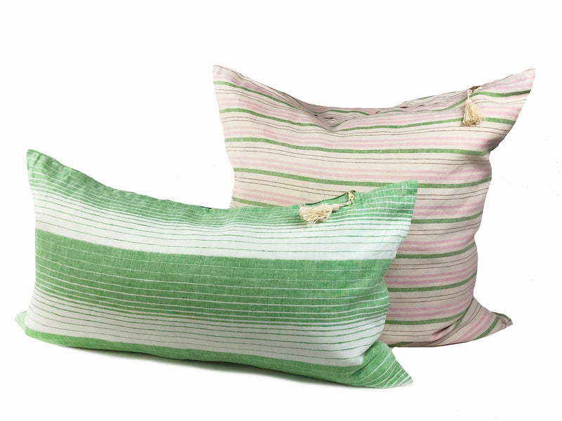 Throw Pillows in Spring Cortina & Deauville