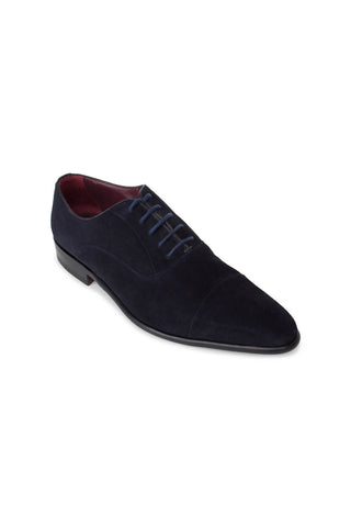 Luxor Dark Blue Lace Ups