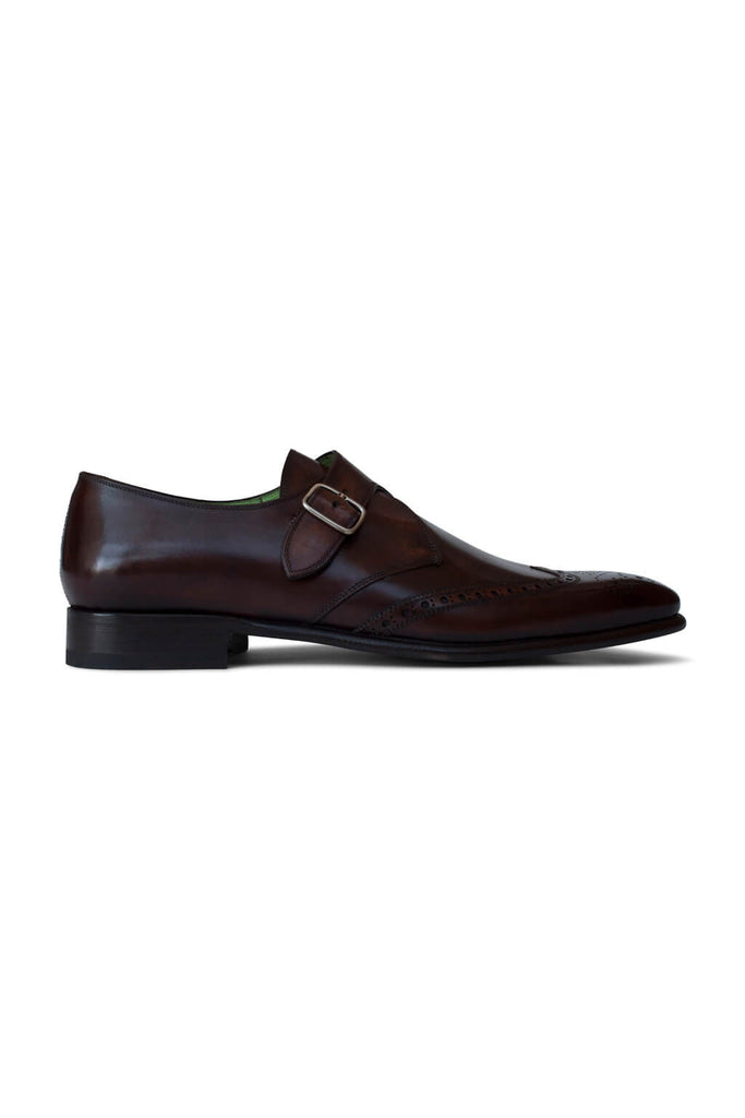 Leonardo Acero Brogue Single Monk
