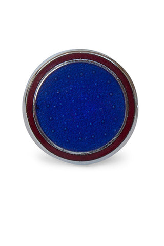 Flat Spot Mid Blue/Dark Red