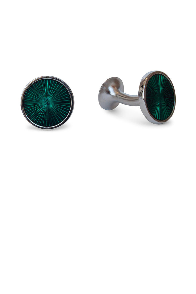 Round Fan Dark Green