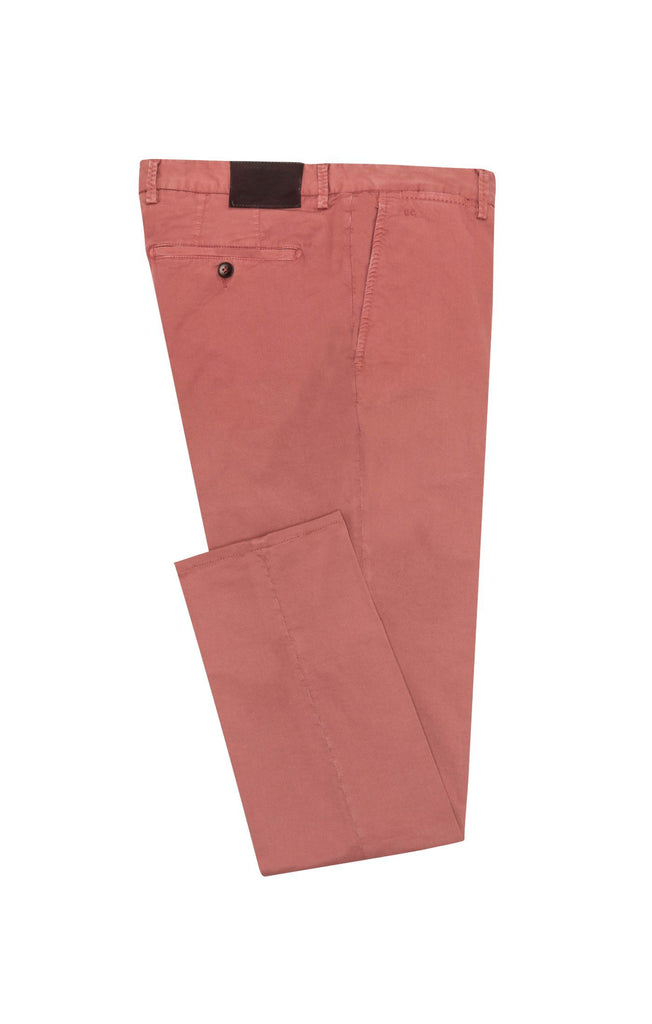 rose garment dyed stretch fine twill