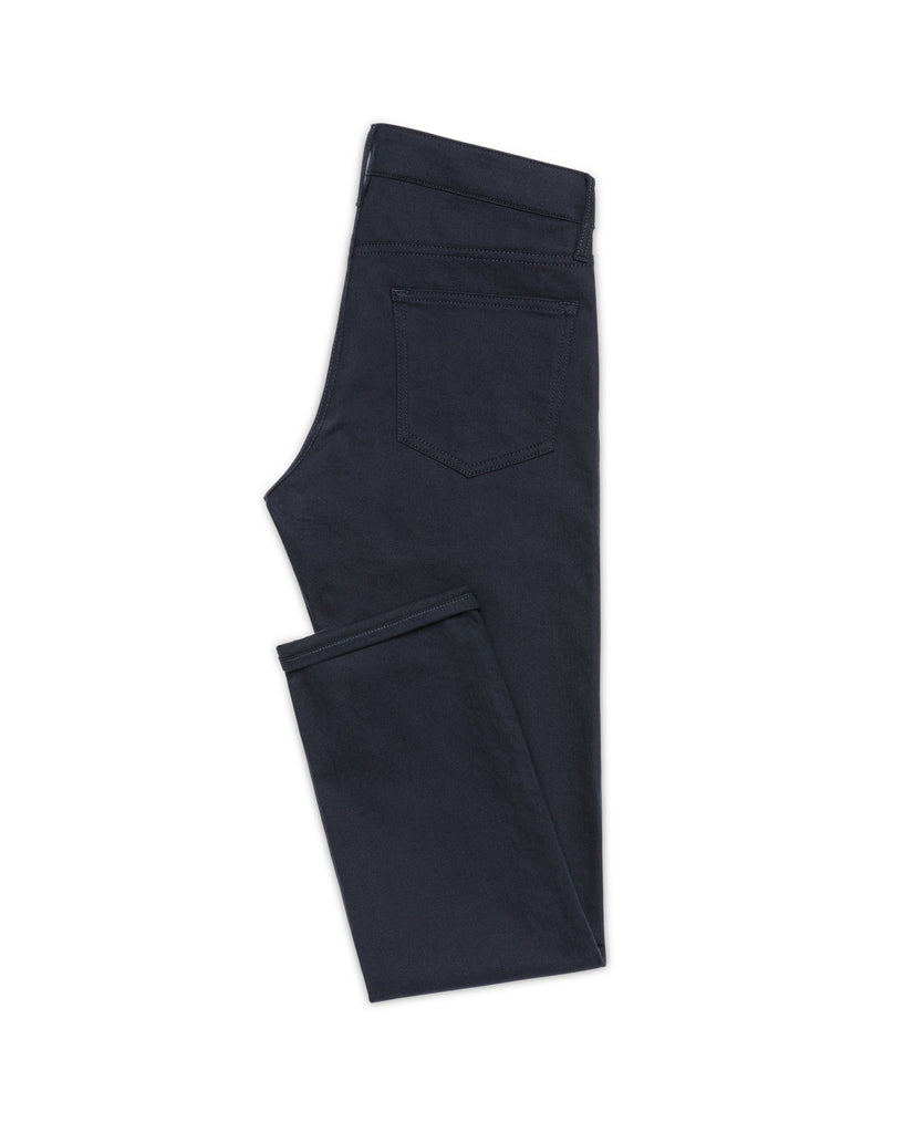 Olimpias Navy Twill Stretch