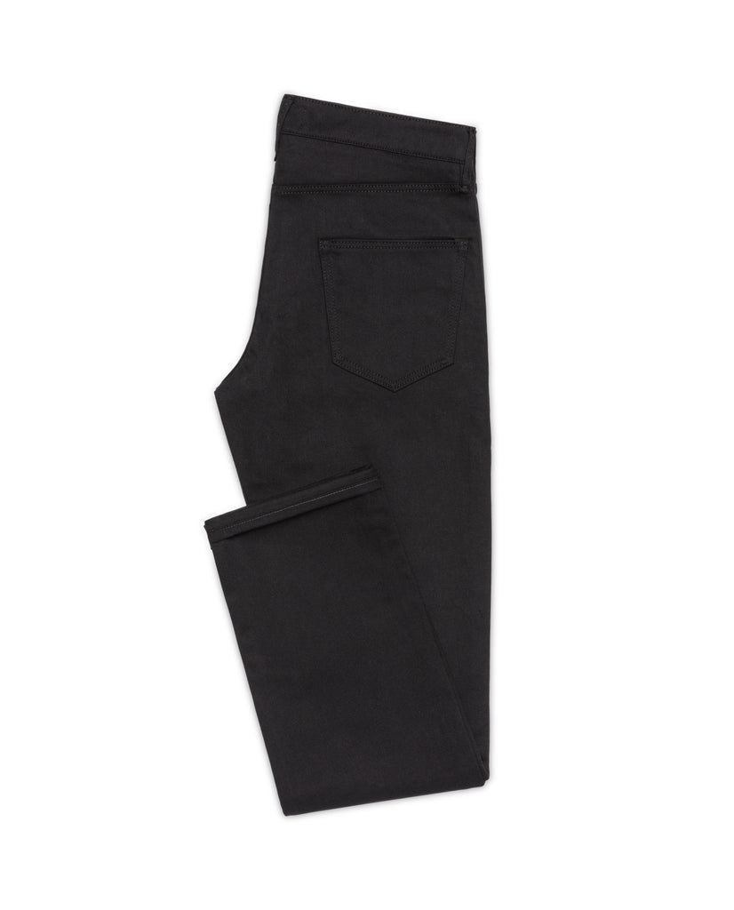Black Twill Stretch