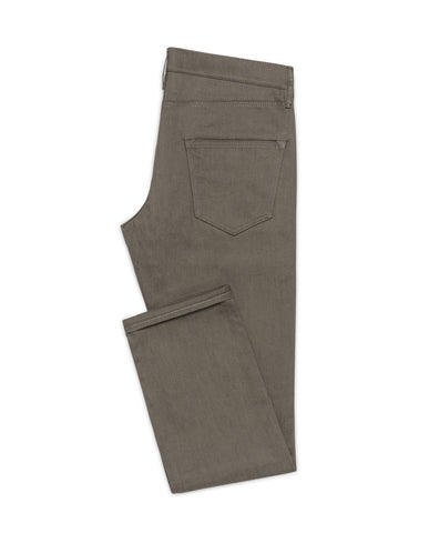 Dusty Olive Twill Stretch