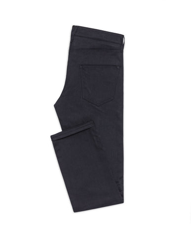 Midnight Blue Twill Stretch