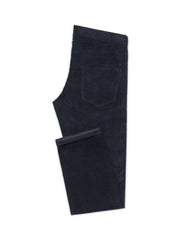 Navy Corduroy Stretch