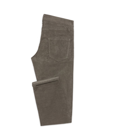 Dusty Olive Corduroy Stretch