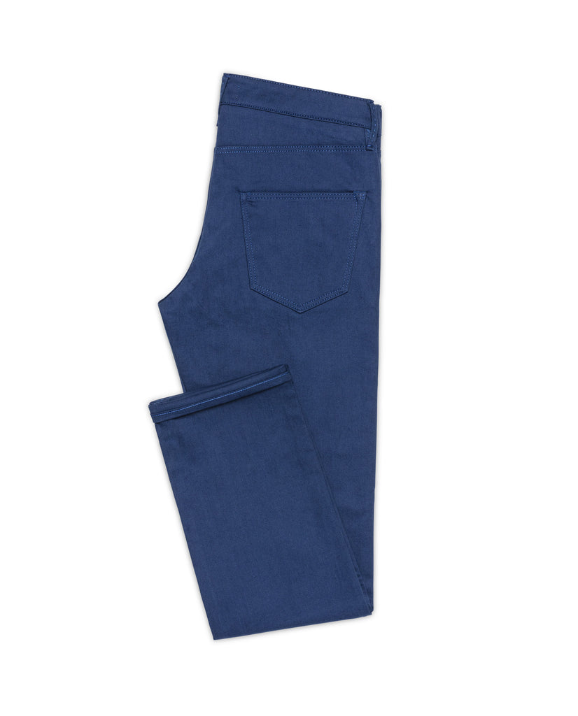Royal Blue Twill Stretch