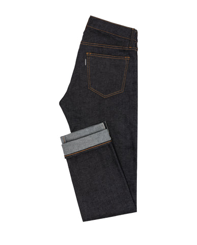 Grey Cast Selvedge Stretch