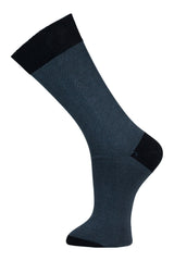 Black & Grey Stripe - Socks - Made To Measure - Bespoke - Amsterdam - Possen