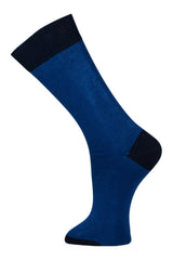 Black & Blue Stripe - Socks - Made To Measure - Bespoke - Amsterdam - Possen