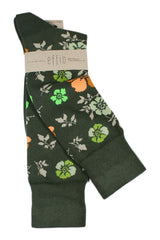 Grey Flower - Socks - Made To Measure - Bespoke - Amsterdam - Possen