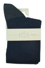 Dark Blue Plain - Socks - Made To Measure - Bespoke - Amsterdam - Possen