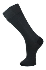 Dark Grey Plain - Socks - Made To Measure - Bespoke - Amsterdam - Possen