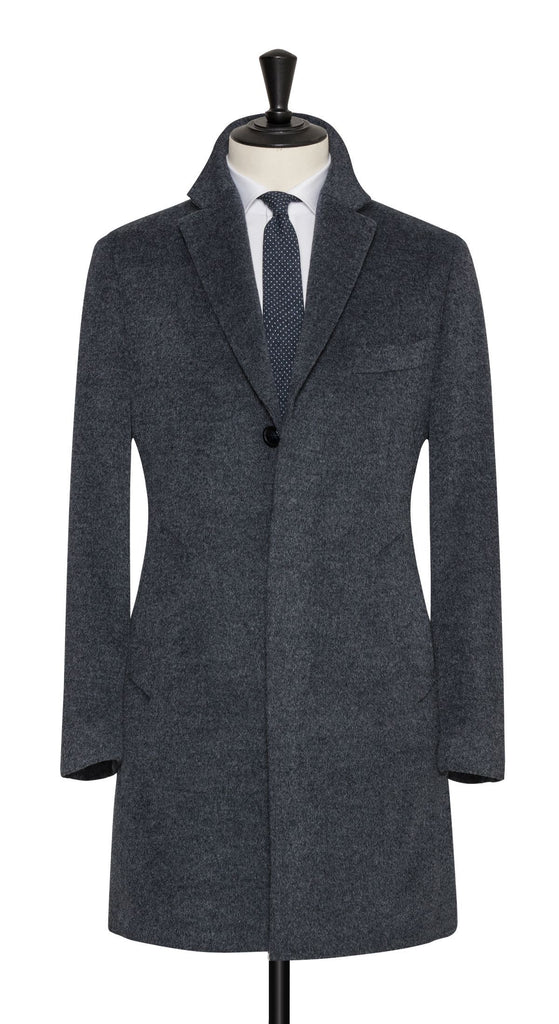 Loro Piana Stone Grey Wool & Mohair