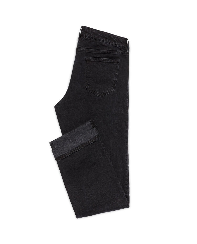 Candiani Washed Black Stretch