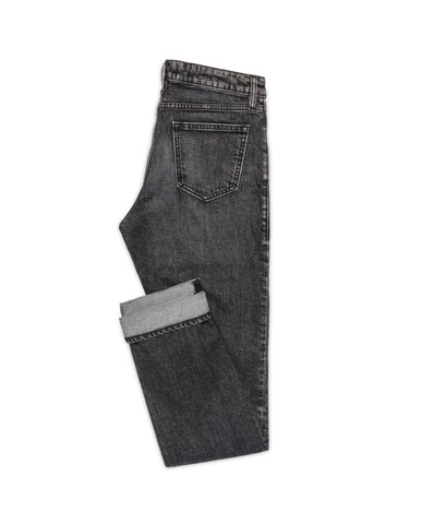 Eco Washed Black Stretch