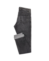 Eco Washed Black Stretch - Jeans - Made To Measure - Bespoke - Amsterdam - Possen