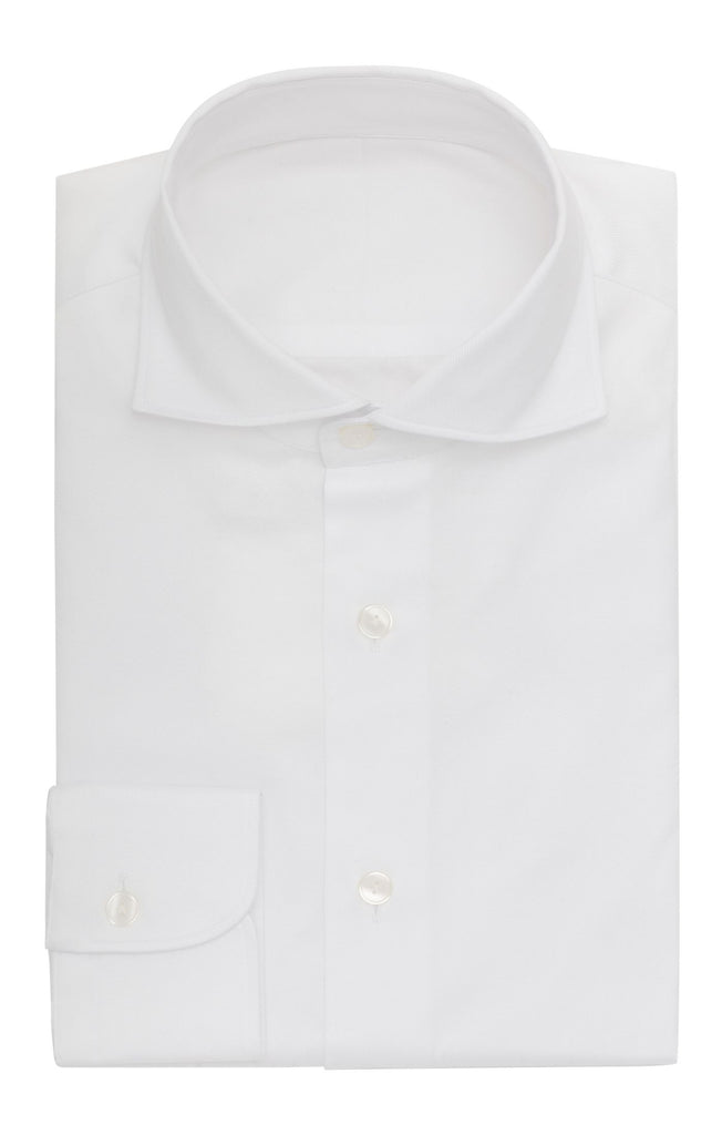 Thomas Mason Dobby Twill White Two Ply Cotton