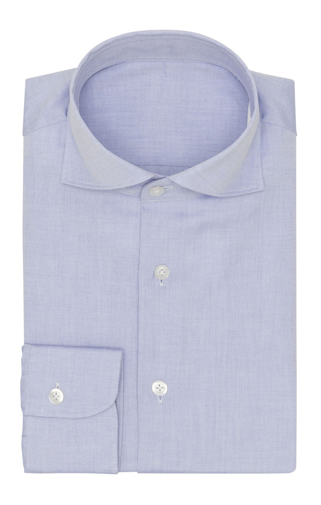 Thomas Mason oxford pin point mid blue