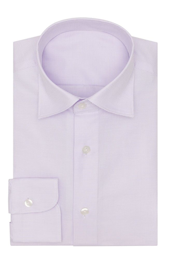 Thomas Mason royal oxford light lilac