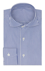 Thomas Mason poplin bengal stripe dark blue Inspiration