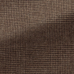 Loro-Piana-mid-brown-wool-cashmere-with-glencheck-D260gr Fabric