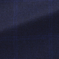 Loro-Piana-midnight-blue-wool-cashmere-with-subtle-windowpane-D260gr Fabric