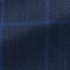 Drago-bright-blue-s130-wool-with-light-blue-windowpane-BB210gr Fabric