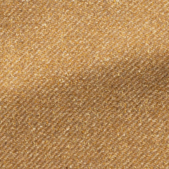 mustard-faux-uni-wool-silk-slubbed-twill Fabric